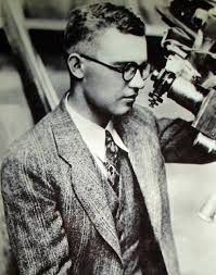 Clyde Tombaugh, the discoverer of Pluto.