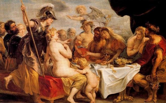 Le nozze di Teti e Peleo, Jacob Jordaens, Museo del Prado