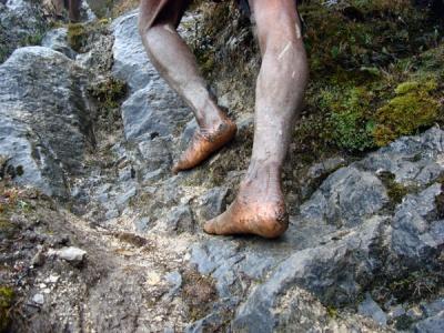 piedi capricorno