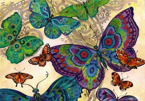 dipinti-farfalle